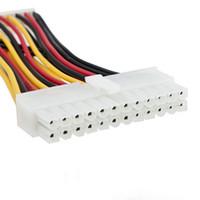 ingrosso perni del computer portatile-1pc ATX 20 pin a 24 pin alimentatore da femmina a maschio Cavo adattatore per laptop per PC nuovo di zecca