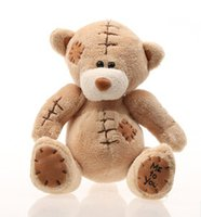 Wholesale Wholesale Teddy Bears 16 - Wholesale-Free shipping Cut Teddy bear(16*15cm)Plush toy Stuffed animalsDoll  Lovers Birthday Gift