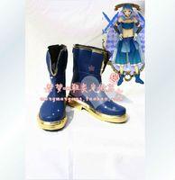Wholesale Sayaka Miki Cosplay Costume - Wholesale-Puella Magi Madoka Magica Sayaka Miki Cosplay Boots