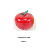 Wholesale Apple Crystal Puzzle - Kids Toys 3D Crystal Puzzle Apple Model Learning Education Game For Children