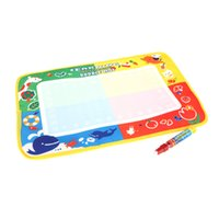 Wholesale Aqua Board - Kids Drawing Water Mat Tablet Aqua Doodle 45 * 29cm Multicolour Drawing Board + Drawing Pen Magical water canvas