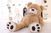 Wholesale kids giant teddy bears toys - New Kawaii 3.4 m Huge Plush Animals Giant Teddy Bear Plush Soft Toys Kids Toys Stuffed Animals Huge Plush Bear Best Gifts