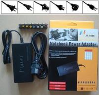 alimentação universal do adaptador de carregador 96w venda por atacado-2019 Universal 96 W Laptop Notebook 15 V-24 V AC Carregador Power Adapter com a UE REINO UNIDO EUA AU Plug com 8 Conectores