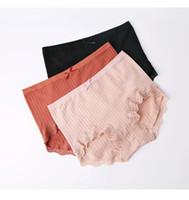 ingrosso cavallo piatto-Pantaloni a vita bassa in morbido cotone a vita bassa