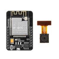 ingrosso kit di avviamento per arduino-Commercio all'ingrosso ESP32 CAM WiFi + scheda di sviluppo modulo fotocamera bluetooth ESP32 con modulo telecamera OV2640 Migliore qualità