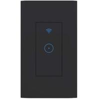автоматизация домашнего освещения оптовых-Smart Home Automation FCC и RoHS Сертифицированный WIFI AC 1Gang Выключатель света Smart Touch Выключатель Smart Electric