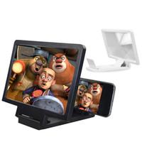 ingrosso magnifier dello schermo del telefono mobile 3d-New Fashion 3D Ingrandisci lo schermo del telefono cellulare Magnifier Stand per telefoni cellulari Fashion Phone Mount