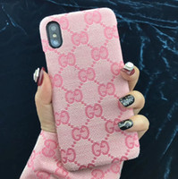 Wholesale holster for phone online – custom Vegan Fabric Back Cover Printed Letter Pure Color Holster Phone Shell Anti skid for iPhone XS Max XR s Plus