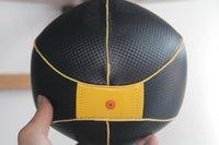 ingrosso palla per il fitness-Speed Ball Box Speed Ball in pelle verticale palla a soffitto Speed Punch Esercizio Punching Training Ball Fitness Speedbag Fabbrica diretta