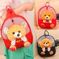 linda mochila de guarderia al por mayor-Cute Kid Toddler Mochila Kindergarten Schoolbag 3D Cartoon Animal Bag