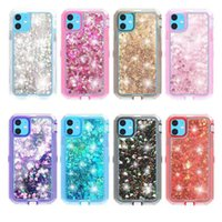 Wholesale flash shell for sale – best New Bling Bling Liquid Glitter Case for iPhone Pro Max Cell Phone Anti drop Soft Clear TPU Case Flash Glitter Shell
