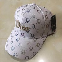 Wholesale ladies fashion hats resale online - New mens designer hats snapback baseball caps luxury lady fashion hat summer trucker casquette women causal ball cap high quality