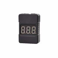 тестер напряжения аккумулятора оптовых-Оптовая BX100 1-8s Lipo тестер напряжения батареи низкого напряжения зуммер сигнализации с двумя динамиками высокое качество