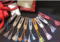 glands livraison gratuite achat en gros de-Top qualité corde matériel bracelet avec mots de couture et gland marque bijoux cadeau livraison gratuite PS6230