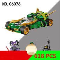ingrosso notte ninja-Il carro da notte continuo di Phantom Ninja Lloyd 70641 giocattoli da costruzione 06076 all'ingrosso