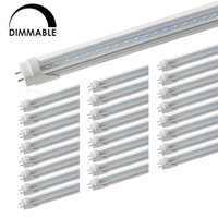 Wholesale led bulbs shop for sale - Group buy Dimmable T8 LED Tube Light Led Shop Lights Double End Powered Fluorescent Replacement Bulbs for Warehouse Supermarket Workshop G13 Base