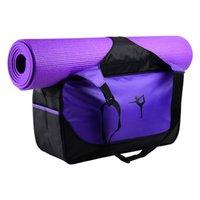 männer schultertasche tuch großhandel-Yoga-matte tasche fitness gym taschen sport oxford tuch training schulter sport für frauen männer reisen rucksäcke
