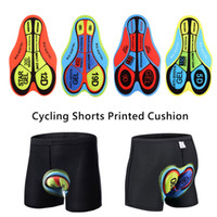 Wholesale bicycle shorts underwear resale online - 5D Silica Gel Pad Breathable Cycling Shorts Cushion Bicycle Mountain MTB Riding Base Cushion Outdoor Biking Underwear