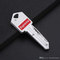 ringt trend großhandel-Modetrend Multifunktions Auto Schlüsselanhänger tragbare Schlüssel faltbare Tasche Mini Camping Schlüsselanhänger Schlüsselanhänger im Freien Gear sup