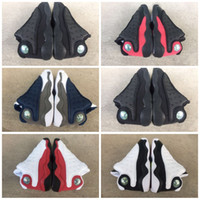 Wholesale winter boots shoes children for sale - Group buy With Box s Black Cats Toddler sneakers bred Flint Kids Basketball Shoes Infant big boy Girl Children Trainers