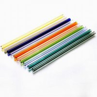 Wholesale direct party supplies resale online - 250 MM Factory Direct Sale Reusable Glass Straws Bent Straight Food Grade Drinking Tools Party Decoration Bar Supply Straws