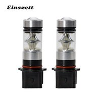 Wholesale led fog lights for motorcycles for sale - Group buy 2pcs P13W Fog Light Auto LED HeadLight Bulb V SMD W High Power White DRL Lamp For Motorcycle Car Accessories