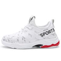 sapata de lona branca das meninas 12 venda por atacado-Varejo crianças grandes sapatos meninas coreanas branco desportivos lona meninos da juventude tênis tênis de basquete tamanho 5 meninas designer de sapatos caçoa as sapatilhas