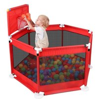 Wholesale baby games play for sale - Group buy Baby Playpen Fence Folding Barrier Kids Park Children Play Pen Oxford Cloth Game Infants Tent Ball Pit Pool Baby Playground