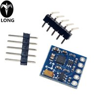 achsmodul großhandel-GY-271 HMC5883L 3V-5V Drei 3 Triple Axis Magnetfeld Kompass Magnetometer Sensor Modul Für Arduino IIC Board