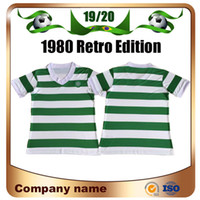 Wholesale vintage soccer for sale - Group buy 1980 Retro Edition celtic soccer Jerseys home white and green Vintage Scotland FOOTBALL Soccer Shirt Charlie Nicholas Football uniform
