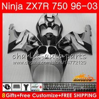 ingrosso 1997 ninja zx7r-Bodys per KAWASAKI NINJA ZX 7 R grigio fabbrica ZX 750 ZX750 ZX 7R ZX-750 28NO.143 ZX-7R ZX7R 1996 1997 1998 1999 2000 2001 2002 2002 Carenatura
