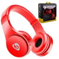 kafa bandı kulaklık seti mikrofonu toptan satış-Bluetooth Kulaklık S55 Kablosuz Kulaklıklar Stereo Müzik Kafa Katlanabilir Kulaklık iPhone Android Telefon için Mic Ile Destek TF Kart MP3