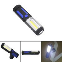 trabalho mais leve venda por atacado-Nova Tocha Mais Leve multi-funcional COB LED built-in bateria de carregamento USB lâmpada de trabalho ao ar livre iluminação luz de emergência de acampamento luz