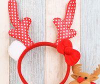 rosa kind armband großhandel-Weihnachtsheißes rotes rosafarbenes Kindergeschenkarmband-Stirnband der Kinder zweiteiliges Partyzubehör