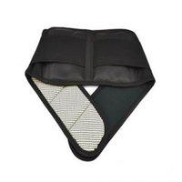 apoyo de corsé de la terapia magnética al por mayor-Calor Terapia de espalda magnética Cinturón de cintura Soporte Lumbar Brace Alivio para el dolor Pegajoso Cinturón de soporte ajustable LLA104