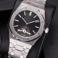 bracelet de calendrier achat en gros de-Top vente luxe haute qualité nautile calendrier montre automatique montre mécanique en acier inoxydable bracelet en cuir hommes mens montres watches2018