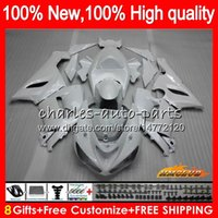 Wholesale fairings pearl white for sale - Group buy Body For KAWASAKI ZX ZX R CC R ZX636 HC ZX CC ZX6R pearl white ZX600 ZX ZX R Fairing kit