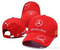 rossi şapkaları toptan satış-İyi Satış Motosiklet 3d Işlemeli F1 Yarış Kap Erkek Kadın Snapback Rossi Vr46 Beyzbol Şapkası Yamaha Şapkalar Caps