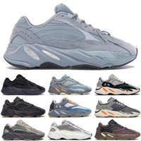 Wholesale kanye west shoes sale resale online - 2020 Hot Sale Running Shoes OO Wave Runner Mauve Vanta Hospital Blue Men Running Shoes Kanye West V2 Designer Shoes Sport Sneakers