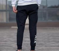 ingrosso pantaloni felpati in pyrex-Pantaloni sportivi di marca Logo del marchio Mens Joggers con lettere Pantaloni da allenamento da jogging elastico Pantaloni Abbigliamento S-3XL