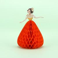 projetos feitos à mão do aniversário cartões venda por atacado-Princesa Design 3D Greeting Card Romântico Handmade Wedding Thanksgiving Natal Aniversário Convites Cartão
