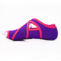 sapatos dedo para as mulheres venda por atacado-Venda quente-Mulher Air Skid Profissional de Fitness Mulheres Sapatos Cinco Dedos Adulto Fingerless Adulto Yoga Meias Tonificação Sapatos