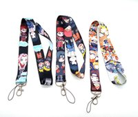 Wholesale japanese cell phone charms for sale - Group buy 50 cartoon Japanese anime Naruto mixed Necklace Strap Lanyards Cell Phone PDA Key ID Strap Charms L