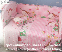 Wholesale free shipping beds for sale - Group buy Promotion Bed Sets For Baby Set Cotton Sets Baby Bed cm