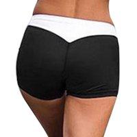 estilo de yoga coreano al por mayor-Pantalones cortos del verano mujeres de las señoras Pantalones cortos de Yoga 2019 mujeres coreanas del estilo Broek Korte dames corto atractivo Feminino Hembra Deportes Pantalones Mujer
