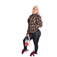 cuello alto con cremallera al por mayor-2019 Mujeres Chaqueta con cremallera Larga Chaqueta con cremallera Diseñador Chaquetas de béisbol Deportes Hiphop Street Club Tops Moda Tela A3138