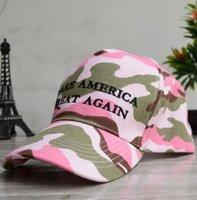armee-tarnung baseball-hut großhandel-HALTEN SIE AMERIKA GROßEN Hut Camouflage Baseball Cap Stickerei Hysteresenhüte Männer Frauen Unisex Sport Camo Army Caps 3 Farbe KKA6345