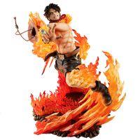 Wholesale pop figure for sale - Group buy One Piece POP Anime Action Figure Model cm PVC PortgasD Ace Combat version statue Collection Toy Desktop Decoration T200304