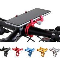 porta-telemóveis para bicicletas venda por atacado-G85 g85 suporte da bicicleta da bicicleta do metal da motocicleta lidar com telefone mount guiador extender suporte do telefone para iphone gps celular etc # 221374