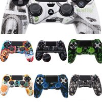 Wholesale design ps4 controller for sale - Group buy Ufpou XBOX Thumb Switch Stick Handle Cap Protective Grip Case for PS4 PS3 Silicone ONE Grips PRO Game Controller Antiskid Mario Design